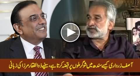 Zulfiqar Mirza Reveals How Asif Zardari Capturing Sugar Mills in Sindh