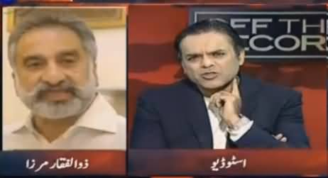Zulfiqar Mirza Telling Why Sindh Govt Delaying Rangers Extension